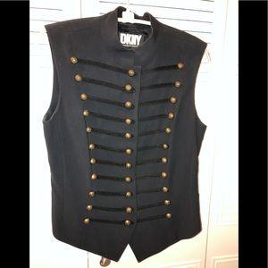 Top/vest navy blue